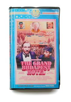 The Grand Budapest Hotel. | This Guy Created The Perfect VHS Cover Art For Modern TV Shows And Movies