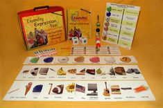 Expanding Expression Tool Kit- lots of EET ideas (including DIY) and links to EET used in activities