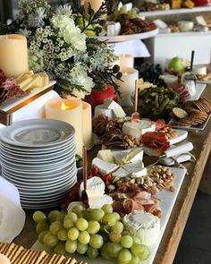 Our holiday party in emojis: 🧀🥖🍇🍷🥂🍾🍫🎶🎄 Do you go for the wine or cheese first? Style your own cheese table with everything you see here! Shop link in bio. Appetizer Table Display, Appetizers Table, Wine Parties, Holiday Parties, Wine Party Menu, Wine Table, Grazing Tables, Cheese Party, Food Displays