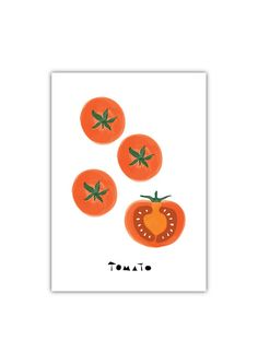 Tomato Art print, Geometry, Vegetable, Fruit, Drawings, Illustration, Decorative art, Kitchen Art, Botanical Art