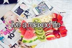 bucket list bucket-list before I die -  Live a RELAXED Life!