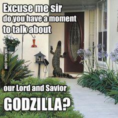 \o/ #Godzilla ...