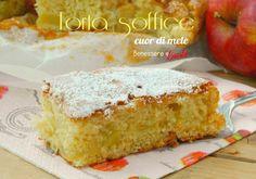 Torta cuor di mela soffice, con pezzetti di mela nell'impasto ed un profumo dolce alla cannella! Il dolce perfetto per la merenda e la prima colazione