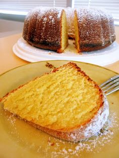 Dragon's Kitchen: Orange & Olive Oil Cake