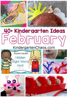 Fabulous Kindergarten Ideas For The Month Of February: Ground Hogs Day, Valentine's Day, Black History Month, Heart Health Month, Dental Health Month Kindergarten Anchor Charts, Kindergarten Teachers, Kindergarten Activities, Classroom Activities, Activities For Kids, Preschool Printables, Learning Activities, Classroom Ideas, Heart Health Month