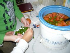 "The Preschool reading of ""Stone Soup"""
