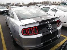 Ford Mustang GT 500 - www.mustang24.de Ford Mustang Gt, Mustang Fastback, Gt 500, Pony Car, Abs, Vehicles, Crunches, Abdominal Muscles, Fit Abs