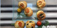 Muffins italiens (tomate, olive, parmesan) http://www.lesgralettes.com/
