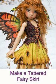 fairy skirt tutorial  .................................♥.Nims.♥......