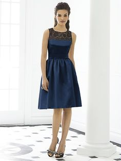 After Six Bridesmaid Dress 6644 http://www.dessy.com/dresses/bridesmaid/6644/?color=black&colorid=123#.UqM26ee9KK0