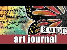 Art journal | acrylic markers & oxide inks