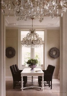Dutch dining room. More Than Classic magazine