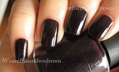 $4 - OPI Lincoln Park After Dark/LPAD, swatched 1x (NL W42 - black label)