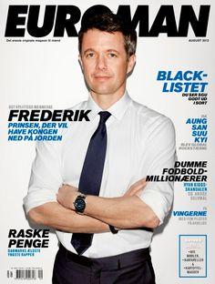 Prince Frederik of Denmark  @ EUROMAN August 2012