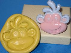 Dora The Explorer Boots the monkey Silicone Push Mold Candy A427 Fondant Soap #LobsterTailMolds