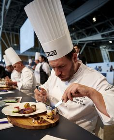 #bocusedor #bocusedoreurope2018 #contest #gastronomy #chefs #food #cooking #tasting #jury ©Studio Julien Bouvier Bocuse Dor, Chefs, Europe, Studio, Cooking, Food, Pageants, Fine Dining, Dish