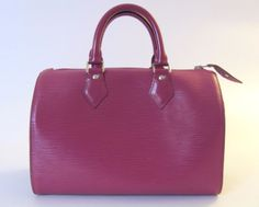 Louis Vuitton Speedy 30 bag in epi leather on sale on ebay