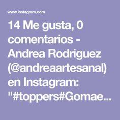 """14 Me gusta, 0 comentarios - Andrea Rodriguez (@andreaartesanal) en Instagram: """"#toppers#Gomaeva#hecho a mano#pide el tuyo#Del tema que desees"""" Grateful, Batman, Instagram, Design, Batgirl, Parties Kids, Hand Made, Box, Amigos"""