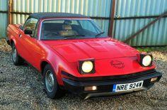 Original low mileage 1980s Triumph TR7 convertible car on eBay