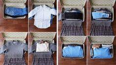 pliage vetements valise