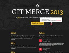 http://git-merge.com/ The map in the top half of the page is pannable.