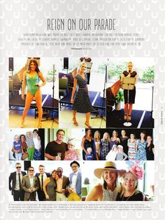 Sandstorm Magazine feature with Leina Broughton in the parade at Kingscliff Salt Bar.