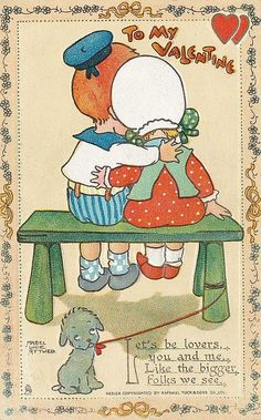 ATTWELL MABEL LUCIE, Tucks Valentines No. 6 - by T Vennett-Smith