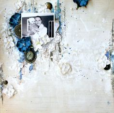 Layout: baby blues