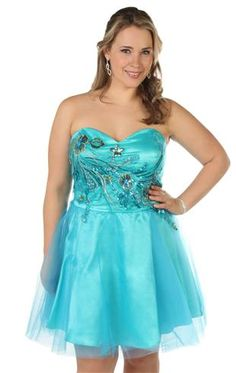Dollars on pinterest plus size short prom dresses and party dresses