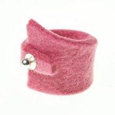 lijelove Filzringe, 04-000K, Simple, rosa, Ringgröße 18 (M) - http://schmuckhaus.online/lijelove/lijelove-filzringe-04-000k-simple-rosa-18-m