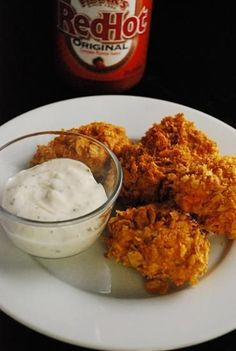 A lighter version of a #tailgating favorite - Buffalo Chicken Bites