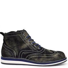 ΔΕΡΜΑΤΙΝΟ ΣΟΥΕΤ ΜΠΟΤΑΚΙ ΜΑΥΡΟ ΒΟΥΡΤΣΙΣΤΟ. Shoeprice.gr · Men s Casual Shoes 0cec1253a9a