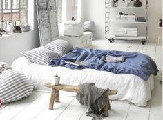 int. bed - idea for linens
