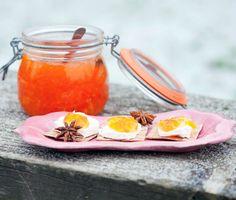 Marmalade with carrot and star anise / Marmelad med morot och stjärnanis   (Recipe in Swedish)