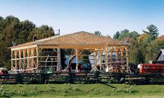 Are you running out of storage space on your property, or do you need a livestock shelter?Then you need abarn.Pole barn or post-frame barn is a type of barn that is the easiest and cheapest to build because it doesn't require foundation and complicated structures. This is perfect if you don't want to hire a... Continue Reading ›