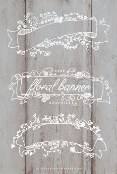 Free Floral Banner Graphics - Designs By Miss Mand ee