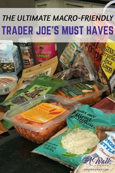 Love shopping at Trader Joe's? And I have a huge list of my favorite macro friendly and gluten-free options that will help you feel your best! Care Skin Condition and Treatment Oil Makeup Paleo Shopping List, Create A Shopping List, Shopping Lists, Macro Nutrition, Nutrition Tips, Real Food Recipes, Healthy Recipes, Healthy Food, Budget Recipes