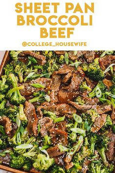 Easy Asian Recipes, Healthy Recipes On A Budget, Vegetarian Recipes Dinner, Healthy Dinner Recipes, Healthy Weeknight Dinners, Healthy Meal Prep, Easy Meals, Healthy Eating, Easy Beef And Broccoli
