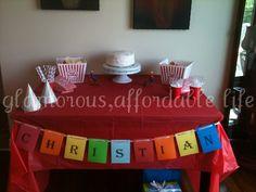 Glamorous, Affordable Life: Carnival Themed { Sixth } Birthday!