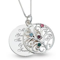 Would make a great Mother's Day gift with all four of our birthstones