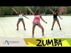 Want to learn a new Zumba choreography? Check this Zumba Workout you can do at Home. Have fun and get in shape at the same time. oneHOWTO Zumba is here to ma. Zumba Fitness, Dance Fitness, Instructor De Zumba, Fun Workouts, At Home Workouts, Squat, Dance Workout Videos, Zumba Routines, Youtube Workout