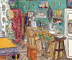 Matisse´s Studio, Place Charles Félix,Nice, 1926 - Damian Elwes