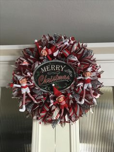 Merry Christmas with elves created by Ronda cromeens 60$