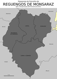 Freguesias do concelho de Reguengos de Monsaraz