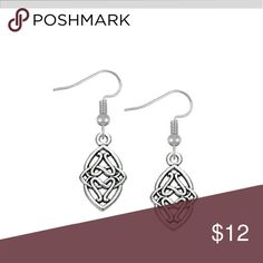 Selling this Celtic knots earrings on Poshmark! My username is: buckleboots. #shopmycloset #poshmark #fashion #shopping #style #forsale #Jewelry