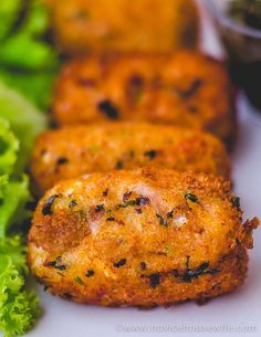 Dahi Ke kebabs (Hung Curd Kebabs) | The Novice Housewife