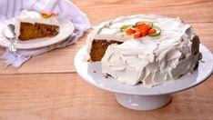 Carrot cake con glaseado de queso (Tarta de zanahoria) - Elena Aymerich - Receta - Canal Cocina