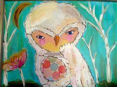 Serie owls 5 by Rocío Rivera
