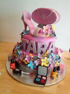 Tara's 21 st birthday cake