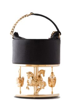 La grande dame black bag by Inés Figaredo #bag